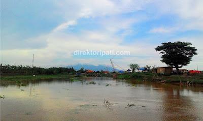 Foto Sungai Silugangga Kali Silugonggo Perbatasan Pati Juwana