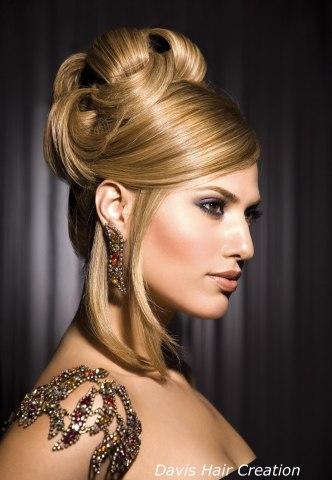 Peinados elegantes para asistir a bodas, fiestas y compromisos donde