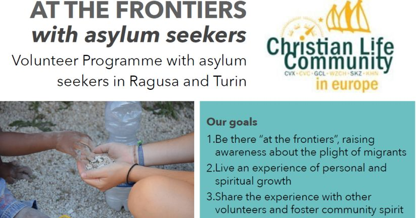 """At the Frontiers 2017"" Voluntariado europeo con refugiados demandantes de asilo"