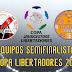 SEMIFINALISTAS COPA LIBERTADORES 2015 (EQ. UNITED)