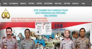 Tata Cara PendaftaranOnline POLRI 2012