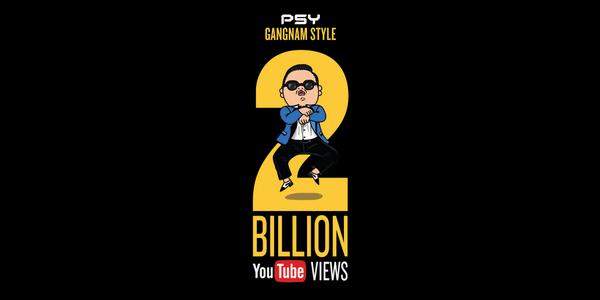 """""""Gangnam Style"""" Cán Mốc 2 Tỷ Lượt Xem Trên YouTube"""