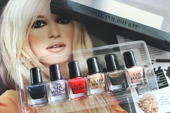 H&M Nail polish set
