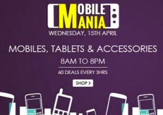 Snapdeal Mobile Mania Buy Mobile, Tablets and accessories 8AM to 8PM at Huge Discounts.