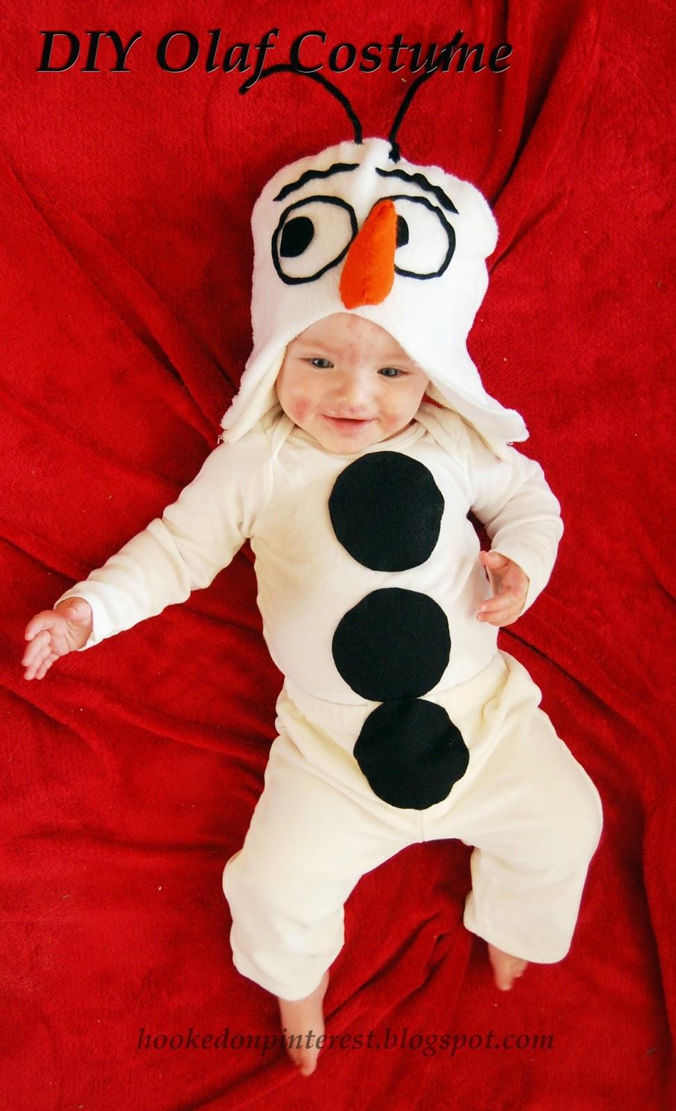 Hooked Diy Olaf Costume