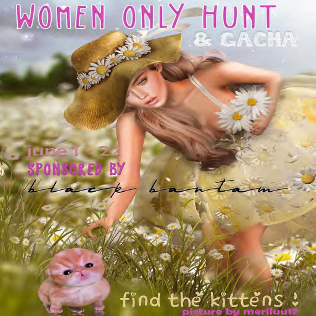 WOMEN ONLY HUNT & GACHA
