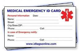 Bye bye bella flora medical id options links for Incident alert template