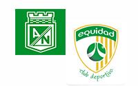 Atlético Nacional vs Equidad