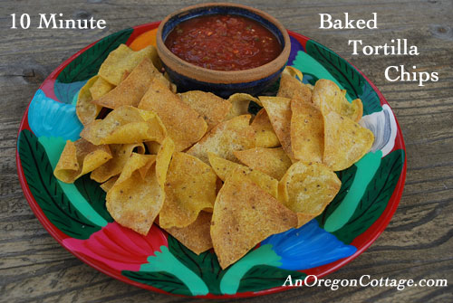 Easy Homemade Tortilla Chips Recipe — Dishmaps