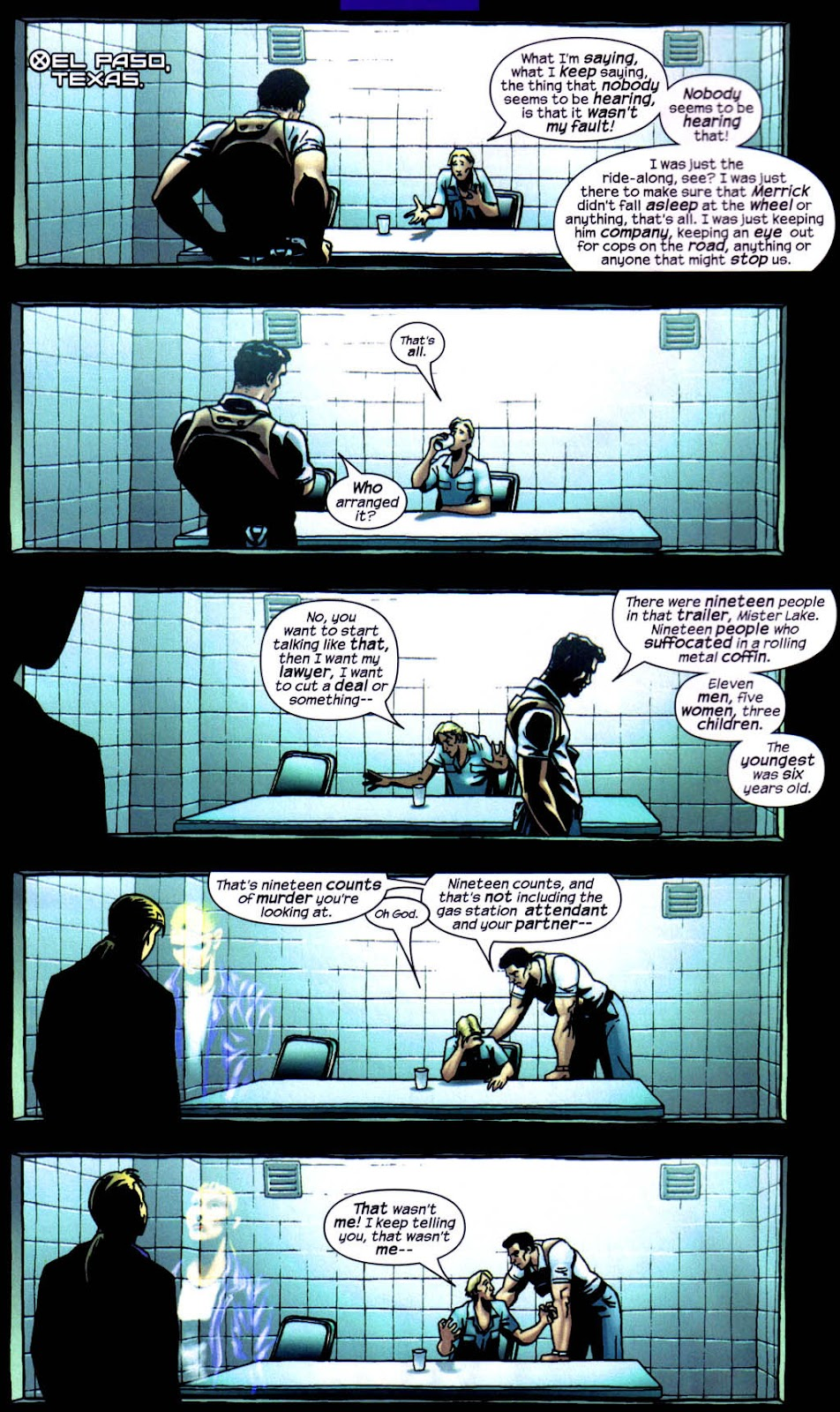 Read online Wolverine (2003) comic -  Issue #8 - 3