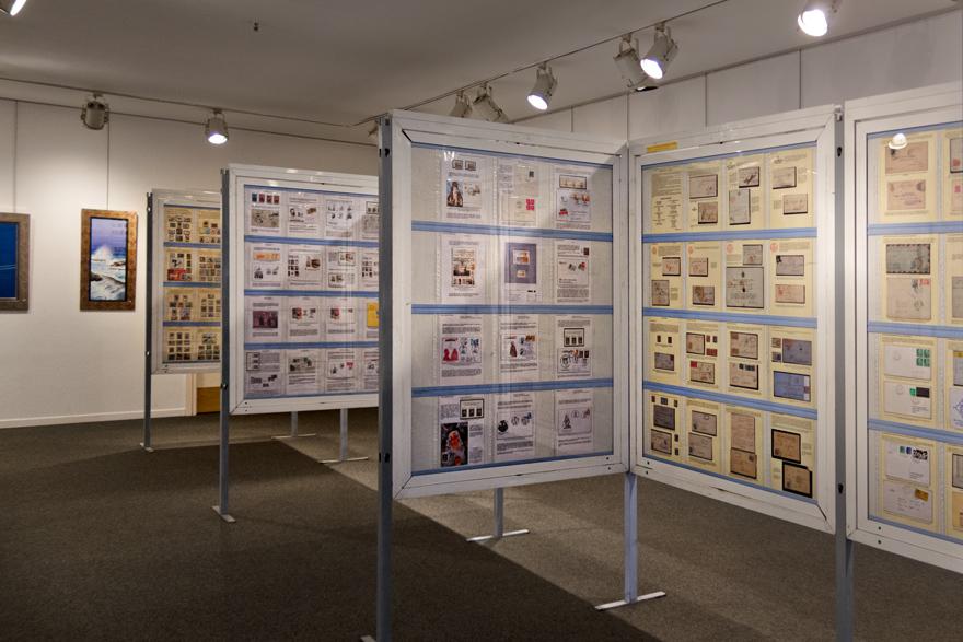 Exposición filatélica Avilés
