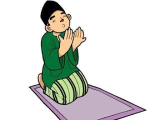 Gambar Kartun Anak Sholeh Berdoa
