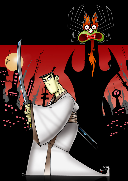 Samurai Jack Cartoon Picture