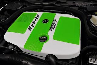 2011 Brabus Mercedes-Benz Hybrid Engine