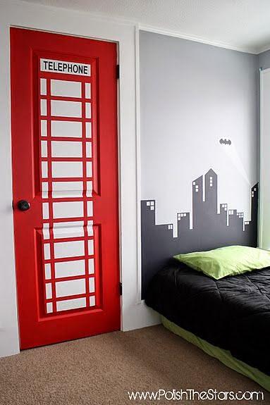 dicas incríveis para decoração de quarto de meninos - quarto londres