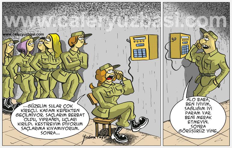 telefon sirasi-Kadinlar Asker Olursa?