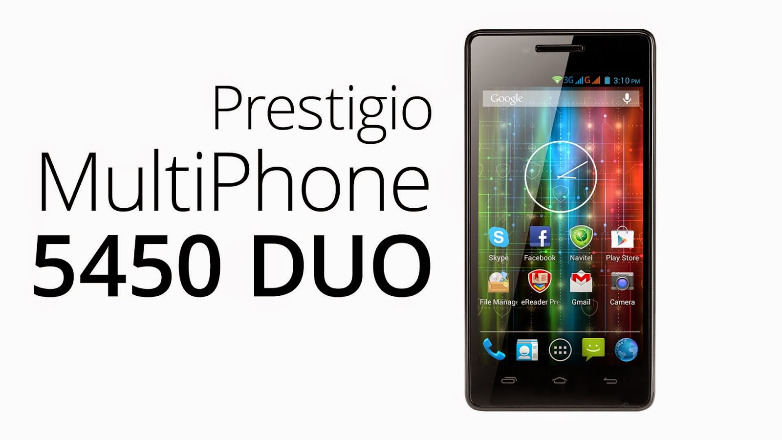 Prestigio Multiphone 5455 DUO İnceleme