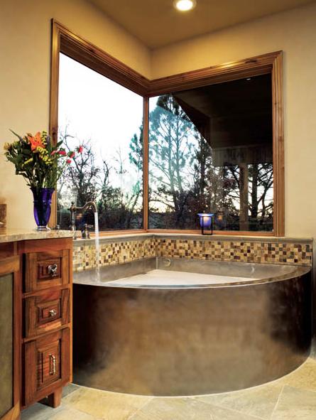 Decoracion De Baños Con Baneras:Las bañeras de esquina, perfectas para baños de espacio reducido
