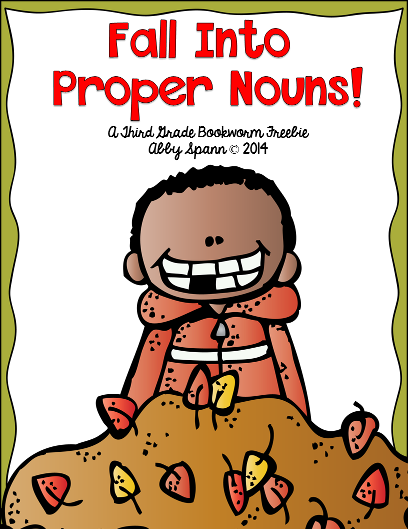 http://www.teacherspayteachers.com/Product/Fall-Into-Proper-Nouns-A-Printable-FREEBIE-Mini-Pack-1270515