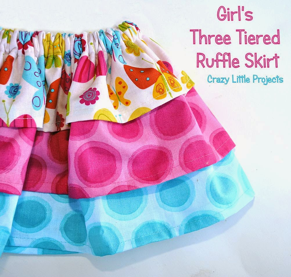 Baby Skirt Free Pattern and tutorial