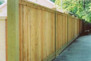 Деревянный забор. Фото 64
