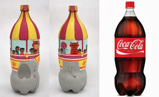reciclar embalagem coca cola refrigerante