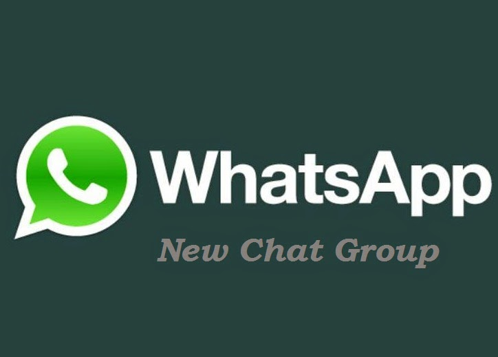 new chat group on whatsapp