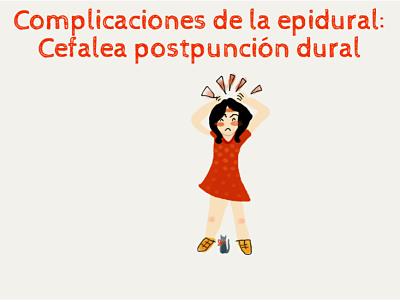 Complicaciones de la epidural: punción dural