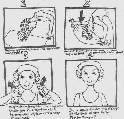 How to do Hair Plopping