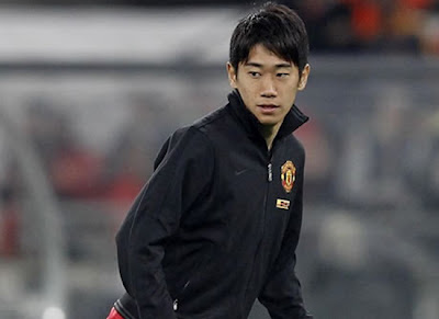 Shinji Kagawa in Trainning of Manchester United