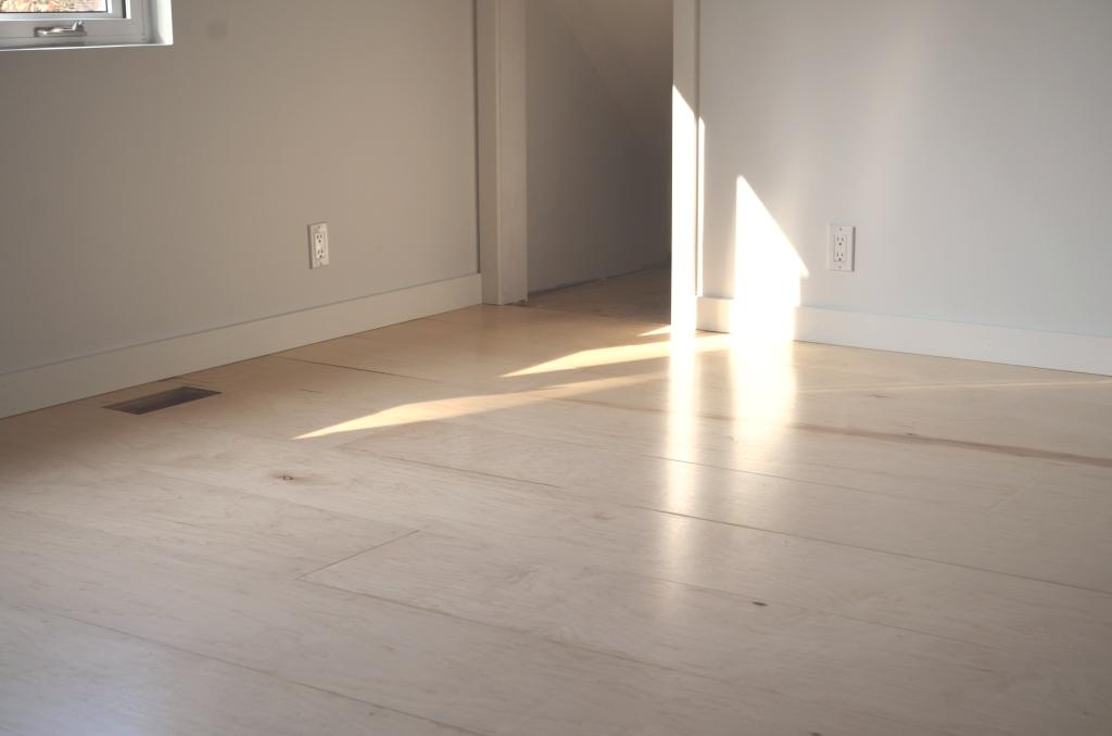 Finished Plywood Flooring ~ The bennett house diy plywood floors