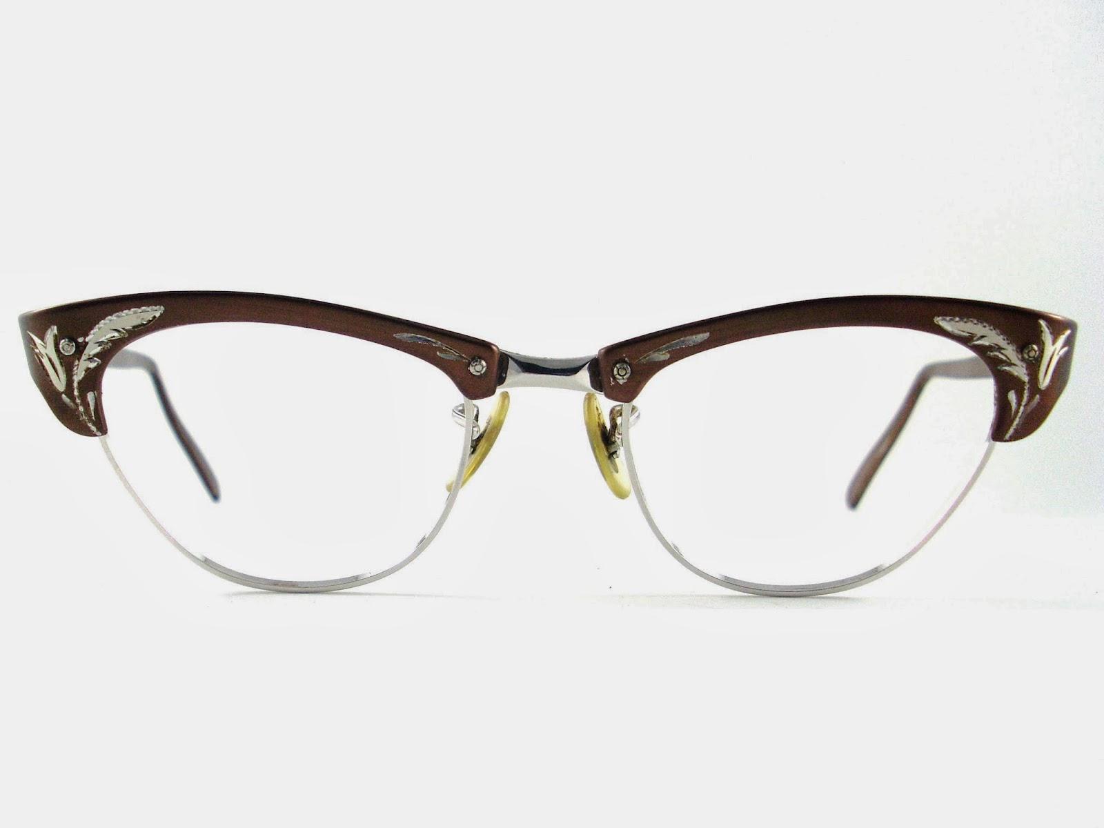 Eyeglass Frames Used : Vintage Eyeglasses Frames Eyewear Sunglasses 50S: Vintage ...