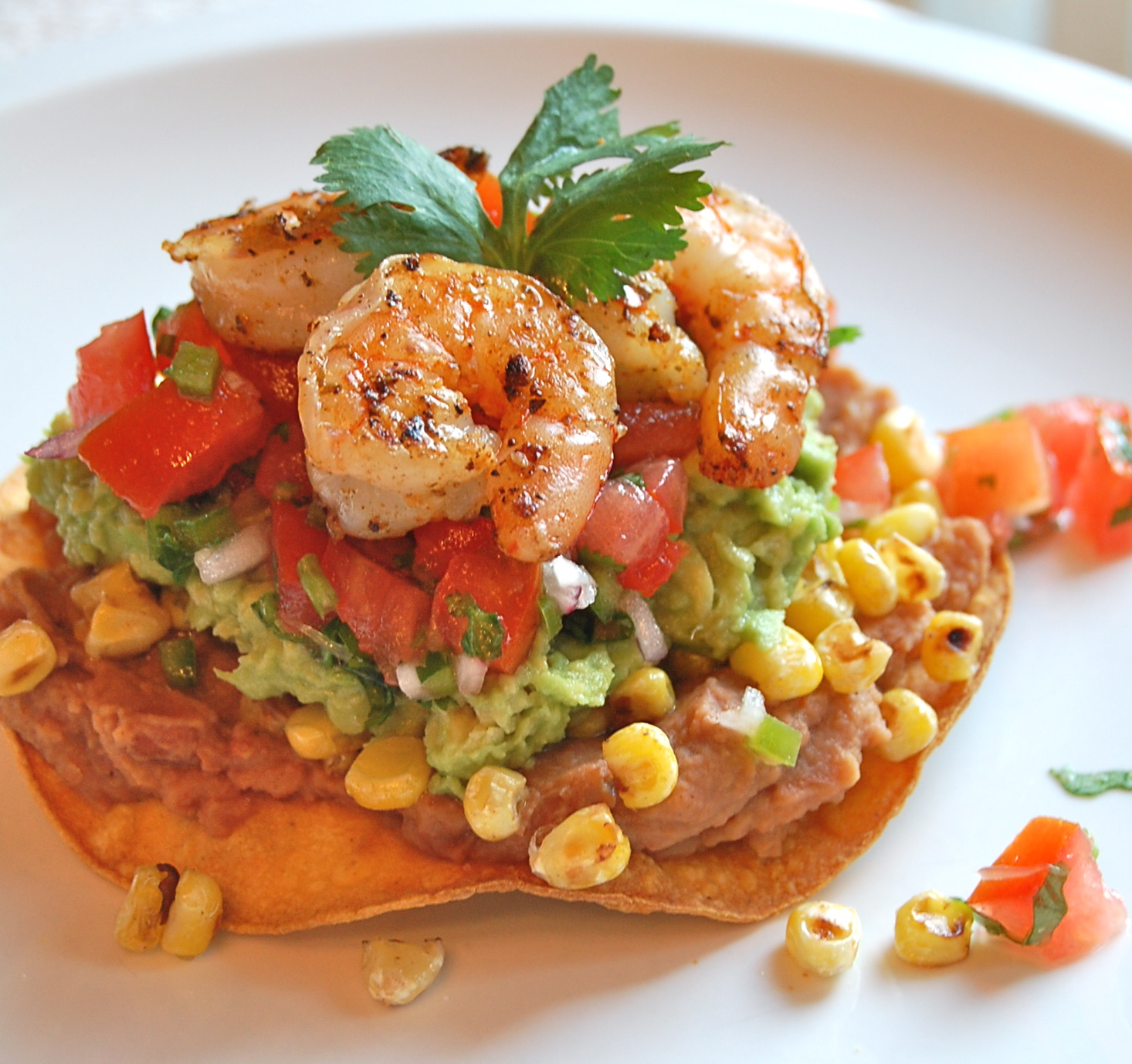Chef Mommy: Shrimp Avacado Tostada