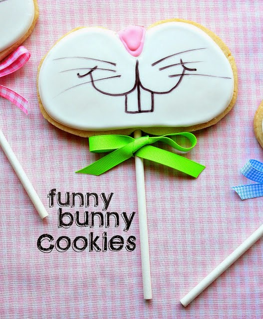 Decorated Cookies - Cute Easter Bunny Cookies