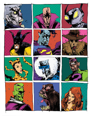 "Super Friends ""Legion of Doom"" DC Comics Print by Jim Mahfood"
