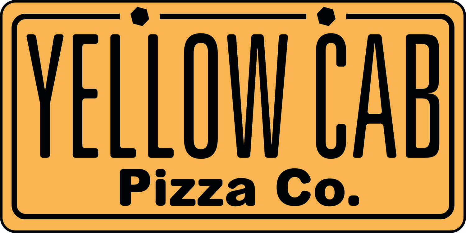 Yellow Cab delivery logo