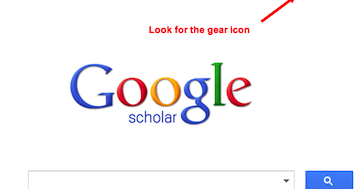 Google Scholar: Add a Library For Easier Access To Research