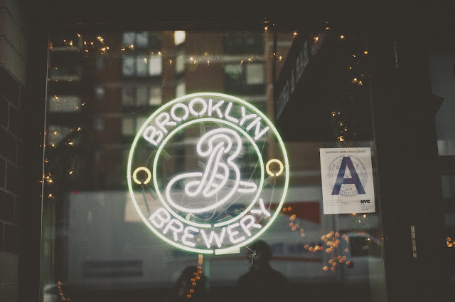 Brooklyn Brewery, neon, sign, beer, bar, tavern, Manhattan, New York