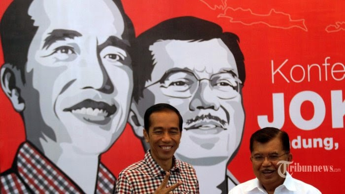 Jokowi JK Prabowo Hatta Pilpres 2014