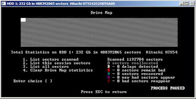 HDD Regenerator scan