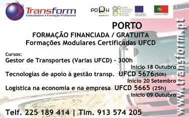 Cursos de formação modular gratuitos – Porto