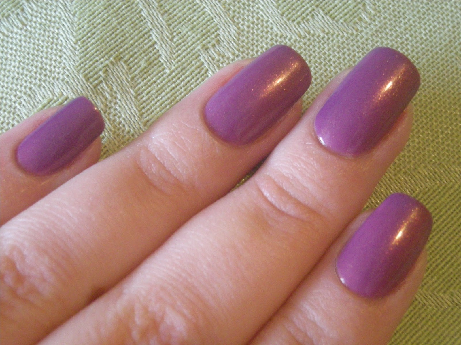 polish cart: purple yourself together