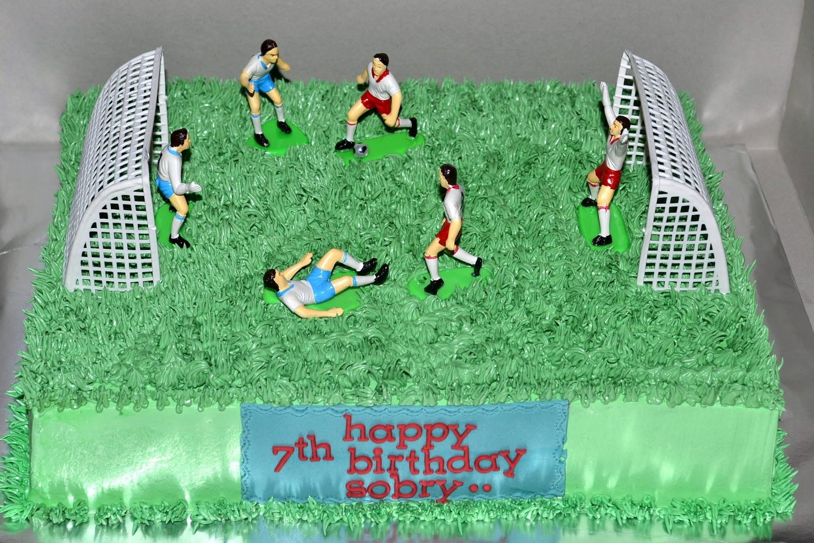 Mypu3 Cake House Football Field Cake