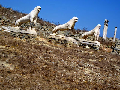 Lion Terrace in the Island of Delos