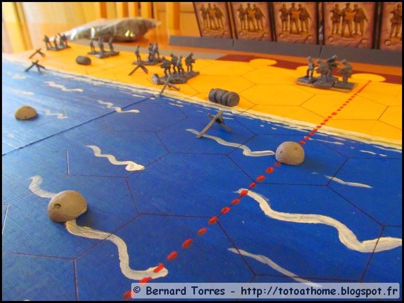 Débarquement à Mémoire 44 - Mines flottantes