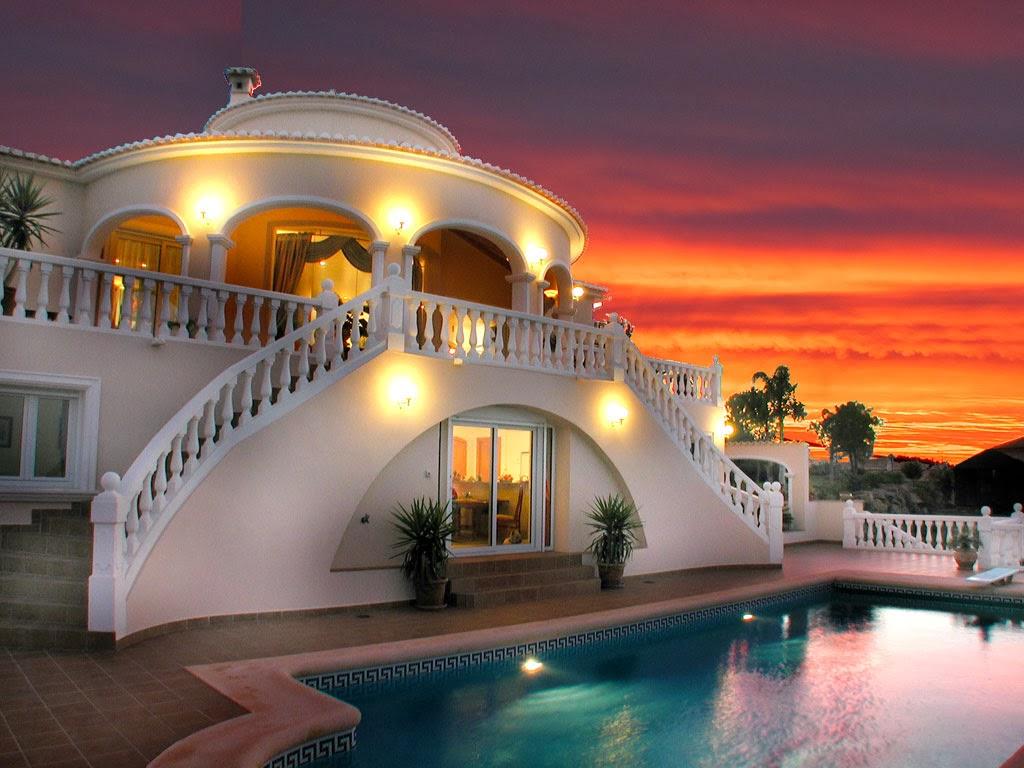 Il mio angolo nel mondo le case pi belle del mondo for Piani del cortile con piscine