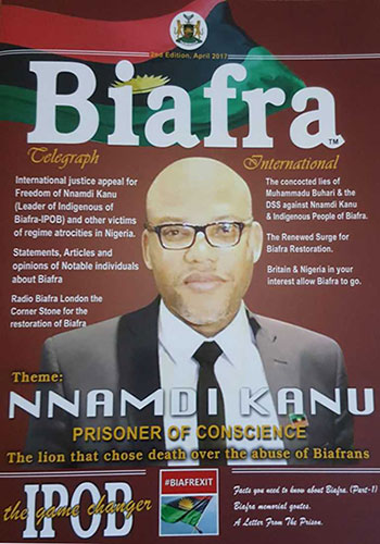 Buy Biafra Telegraph Magazine