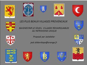 Beaux Villages provençaux