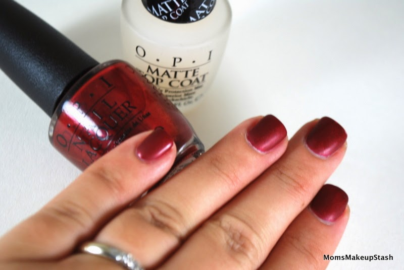 Nail of the Day: OPI In My Santa Suit – Mariah Carey Holiday 2013 ...