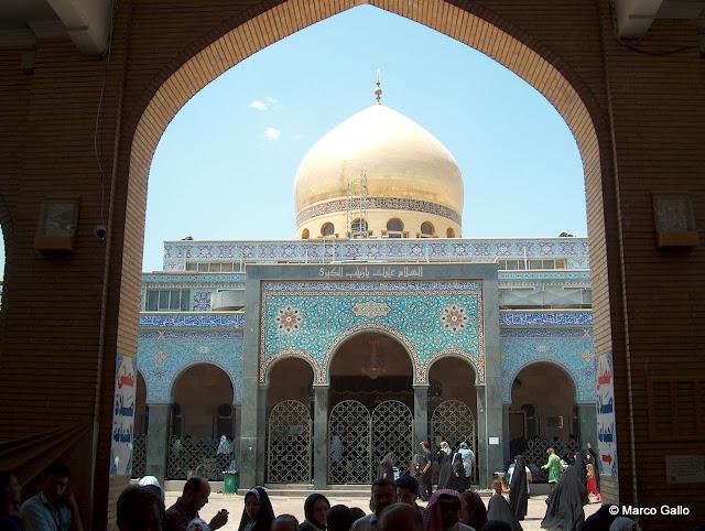 Mezquita Sayeda Zaynab, Damasco. Siria.